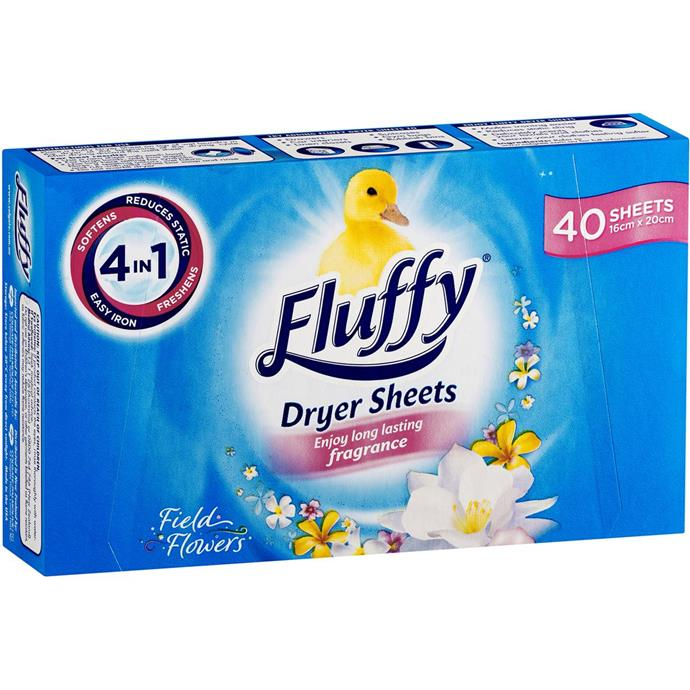 """Fluffy Field Flowers Tumble Dryer Sheets, $6.70 at [Coles](https://fave.co/3cdliXl