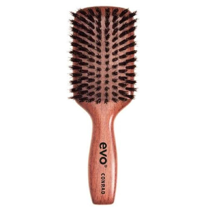 """Conrad Boar Bristle Paddle Brush by evo, $37 at [Adore Beauty](https://fave.co/2PqAXcE