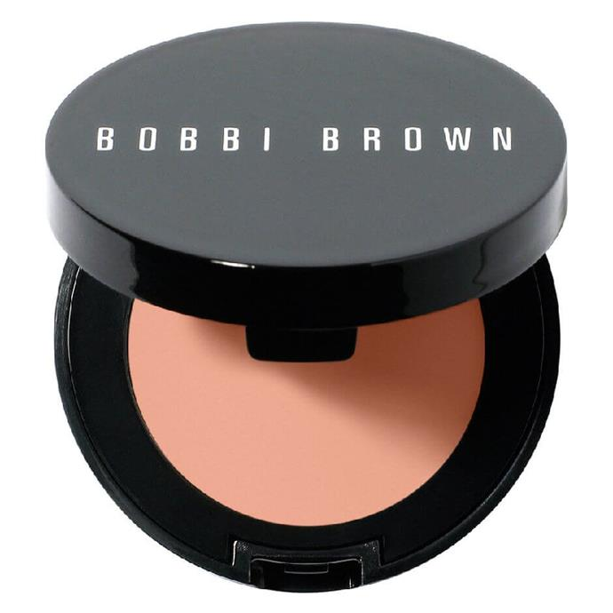 """Corrector in Bisque, $48 at [Bobbi Brown](https://fave.co/3cfZI4s target=""""_blank"""" rel=""""nofollow"""")."""