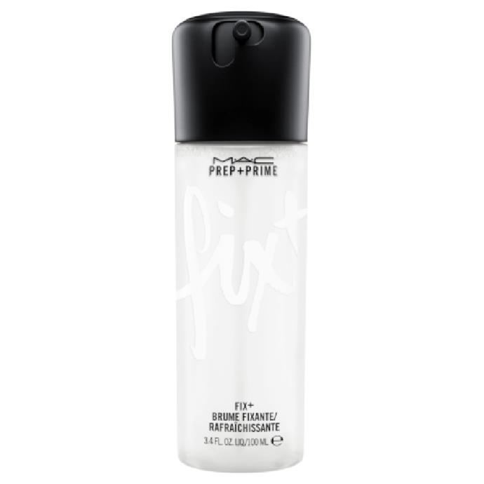 """Prep + Prime Fix+ by M.A.C COSMETICS, $39 at [Adore Beauty](https://fave.co/3vRMRND target=""""_blank"""" rel=""""nofollow"""")."""