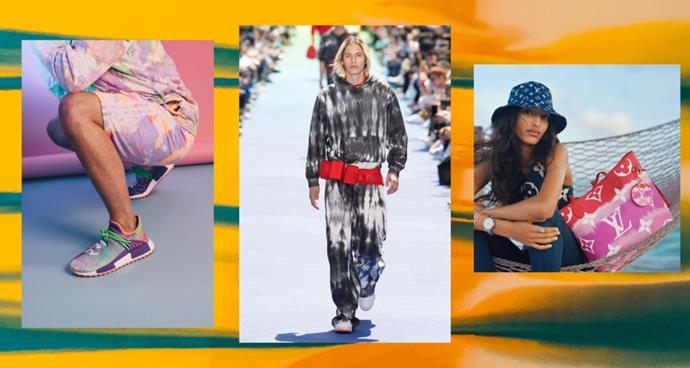*Images: Adidas, Louis Vuitton.*