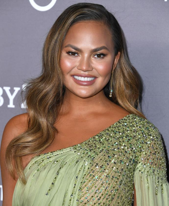 """**Chrissy Teigen**<br><br>  While she may be well-known for [her Twitter persona](https://www.elle.com.au/celebrity/chrissy-teigen-twitter-celebrity-life-22764
