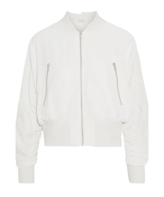 "Clu Velvet-Appliquéd Bomber Jacket, $338; available at [The Outnet](https://www.theoutnet.com/en-au/shop/product/clu/jackets/casual-jackets/velvet-appliqued-cupro-blend-bomber-jacket/23471478575878107 target=""_blank"" rel=""nofollow"")"