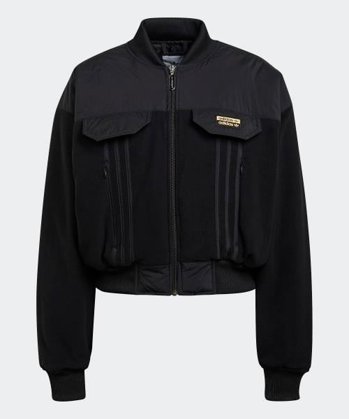 """Adidas Originals R.Y.V. Bomber Jacket, $200; available at [THE ICONIC](https://www.theiconic.com.au/r-y-v-bomber-jacket-1162257.html target=""""_blank"""" rel=""""nofollow"""")"""