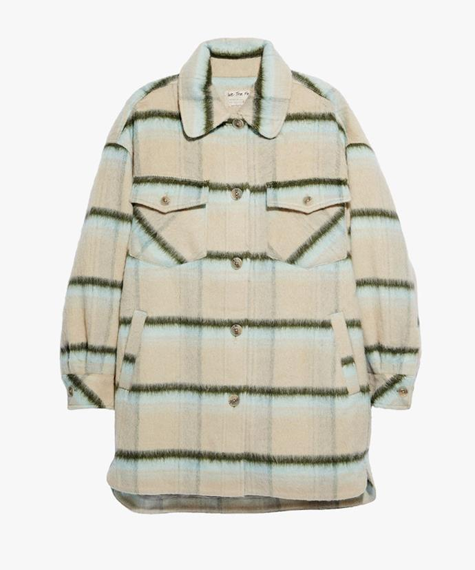 """Free People Vienna Shirt Jacket, $169.95; available at [Free People](https://www.freepeople.com/shop/vienna2/?category=SAYTPRODUCT&color=230&type=REGULAR&quantity=1 target=""""_blank"""" rel=""""nofollow"""")"""
