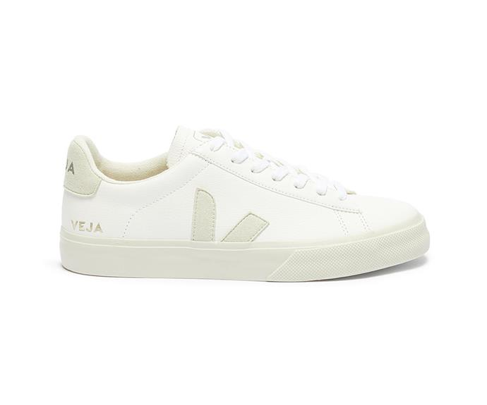 """Veja Campo Sneaker, $200; available at [THE ICONIC](https://www.theiconic.com.au/campo-unisex-1119052.html
