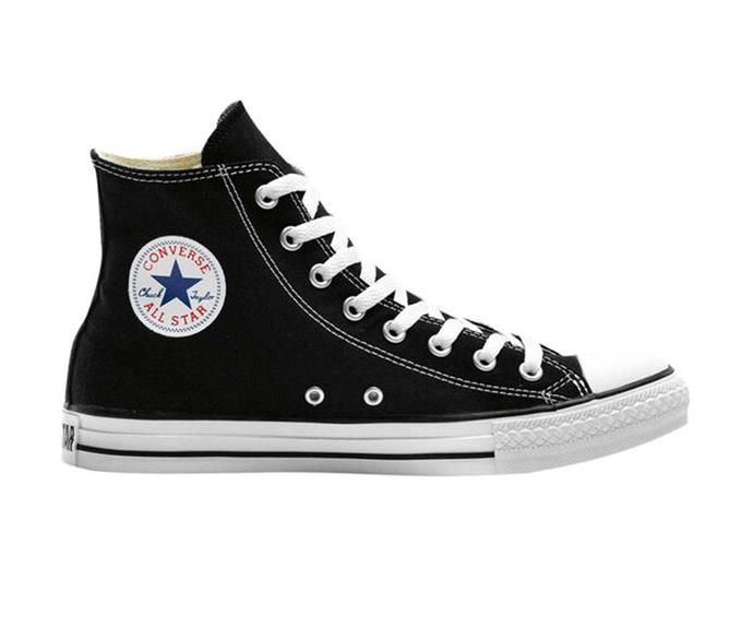 """Converse Chuck Taylor All Star Hi, $130; available at [THE ICONIC](https://www.theiconic.com.au/chuck-taylor-all-star-hi-184175.html