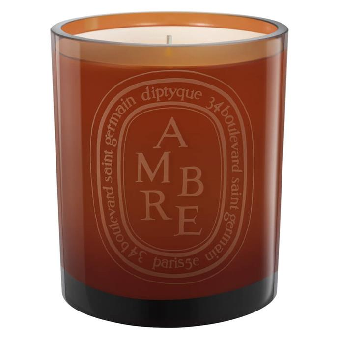 """**Orange Ambre candle by Diptyque, $135 at [MECCA](https://www.mecca.com.au/diptyque/orange-ambre-candle/I-019401.html#q=candle&start=1