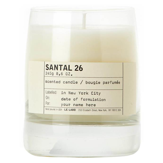 """**Santal 26 Candle by Le Labo, $114 at [MECCA](https://www.mecca.com.au/le-labo/santal-26-candle/I-007183.html