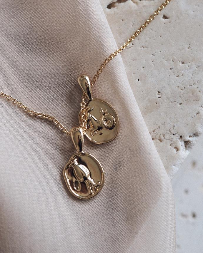 """**YCL Jewels**<br><br>  Perfect for fans of [pirate pendants](https://www.elle.com.au/fashion/gold-coin-pendant-necklace-trend-23869