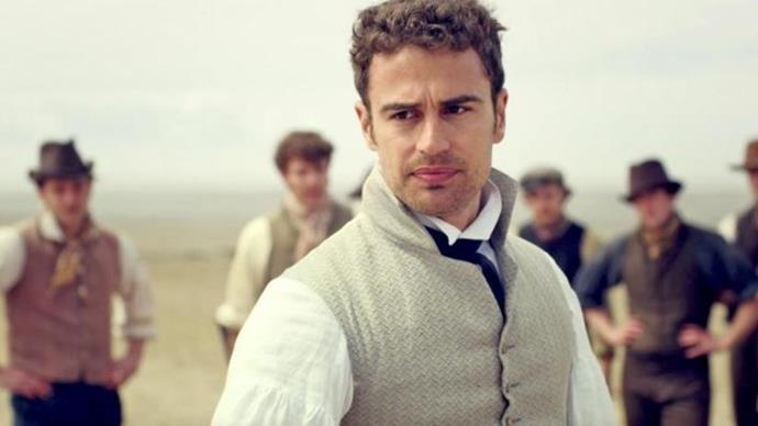 **Theo James as Sidney Parker** <br><br> Theo James plays Sidney Parker, who is practically a blood relative to *Pride and Prejudice*'s Mr. Darcy, thanks to his initially cold disposition. But of course, meeting Charlotte sees a change in him as he rises to the top of our Regency-era crush list. <br><br> The 36-year-old British actor is most known for his role as Tobias in the *Divergent* film series, and has also appeared in one-off episodes of *Downton Abbey* and *The Witcher*.