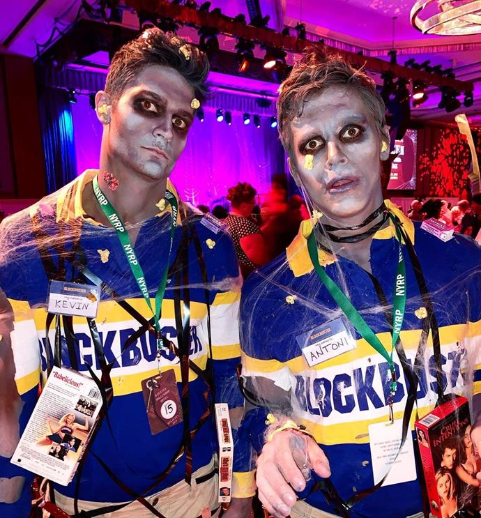 """Porowski and Harrington dressed as """"Blockbuster employees back from the dead"""" to attend Klum's soiree. In a July 2020 interview with *People*, Antoni spoke about cooking for his boyfriend, admitting that while he does most of the legwork in the kitchen, Harrington makes """"really good eggs"""" and that """"Apparently he makes a penne vodka, but he has yet to make it for me!"""" <br><br>  *Image: [@antoni](https://www.instagram.com/p/B4TxUZbH97l/