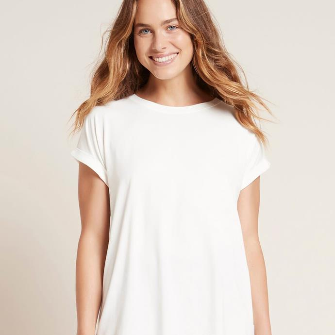 "Boody Downtime Lounge Top, $44.95; at [Boody](https://www.boody.com.au/collections/womens-tops-dresses/products/downtime-lounge-top|target=""_blank""