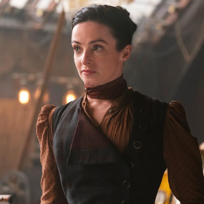 **Laura Donnelly as Amalia True** <br><br> A widow who can see into the future, *The Nevers* is basically the Victorian version of *X-Men*, which makes Amalia the equivalent of Professor X. Running The Orphanage, Amalia looks after women who seek refuge after gaining supernatural abilities that exclude them from society. <br><br> Laura Donnelly has previously starred as Jenny—Jamie's stubborn yet brilliant sister—in *Outlander*. Alongside *Outlander*, Donnelly has also starred in *The Ferryman*.
