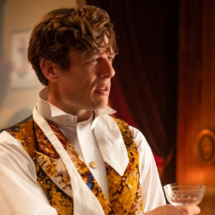 **James Norton as Hugo Swann** <br><br> James Norton plays Hugo Swann, the show's iconic yet problematic bad boy. Rich, flirtatious, reckless, and a lover of sarcasm, his character is described as pansexual and provides a breath of fresh air for the rest of the characters. <br><br> The English actor has previously starred alongside Emma Watson in Greta Gerwig's adaptation of *Little Women*, as well as  TV series *Grantchester*.