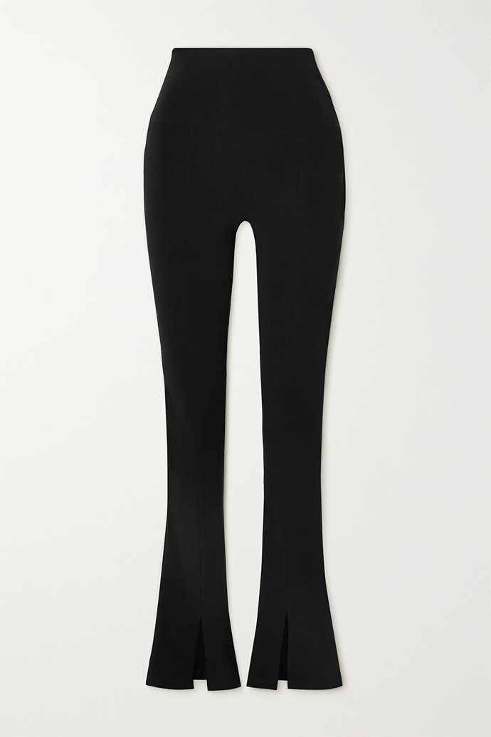 "A luxe pair of flared leggings for those who feel like something a little fancy.<br><br>   *Norma Kamali Spat stretch-jersey flared leggings, $190.14 from [NET-A-PORTER](https://go.skimresources.com?id=105419X1569491&xs=1&url=https%3A%2F%2Fwww.net-a-porter.com%2Fen-au%2Fshop%2Fproduct%2Fnorma-kamali%2Fclothing%2Fflared%2Fspat-stretch-jersey-flared-leggings%2F2204324140723240|target=""_blank""