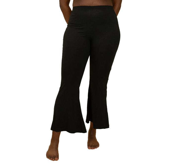 "Ethically produced from naturally dyed bamboo fabric, it goes without saying an excellent flared leggings option are the Frankie Flares from Hara The Label.<br><br>  *Frankie Flares, $90 from [Hara The Label](https://go.skimresources.com?id=105419X1569491&xs=1&url=https%3A%2F%2Fwww.harathelabel.com.au%2Fproducts%2Fpumpkin-frankie-flares|target=""_blank""