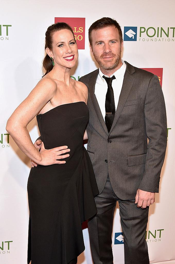 **Miriam Shor (Diana Trout) and husband Justin Hagan**<br><br>  While her character Diana struggles in the relationship department, Miriam, 49, is happily married to her actor husband Justin, 436, with whom she has two daughters: Iris and Ruby. Justin has appeared in a number of TV roles, including *Law & Order* and *The Good Wife*.<br><br>  *Image: Getty*