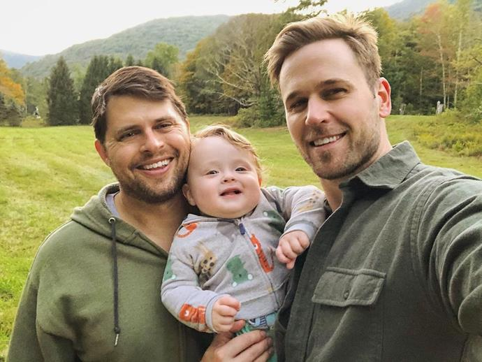 """**Dan Ambroyer (Thad and Chad Weber) and husband Eric Berger**<br><br>  Dan, who plays twin brothers on the show, decided to publicly come out as homosexual when he got engaged to his boyfriend of 10 years, financial planner Eric. The two wed in a sharp-suited ceremony in October 2017.""""I want to live my life moving forward with integrity and pride,"""" Dan told *[People](https://people.com/tv/dan-amboyer-gay-wedding-husband-eric-berger-exclusive-interview/