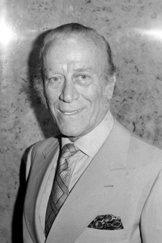 Aldo Gucci.