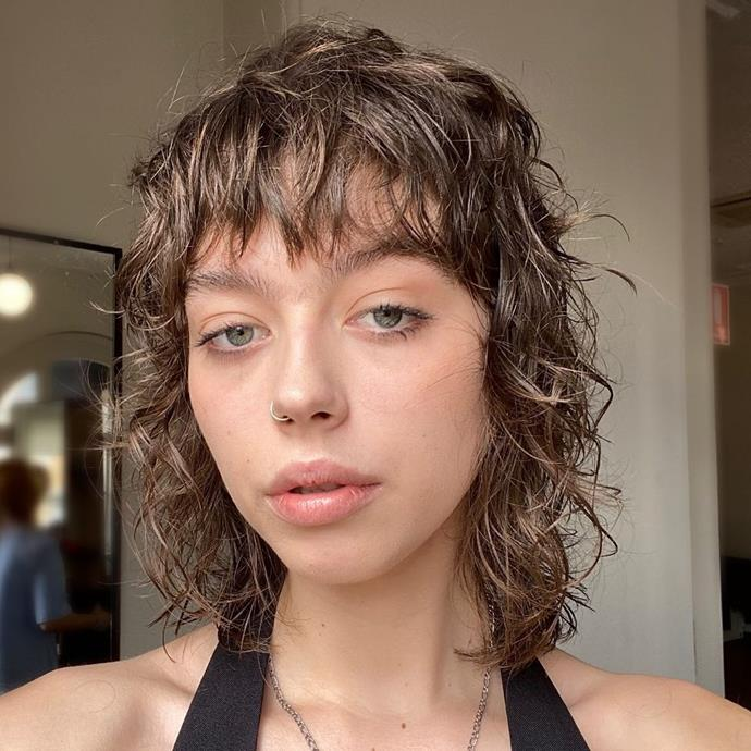 **The Wolf Shag Haircut**<br><br>  If your heart is set on a more clear-cut shag (pun not intended) who better to head to than Australia's mullet shag queen Laura Spinney? Dubbed the 'wolf shag' haircut, this style features tones of layers and a lot of height at the crown.  <br><br>*Image via Instagram @laura.spinney.creative.*