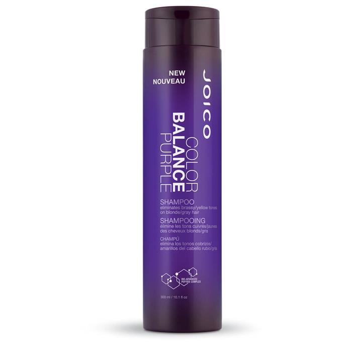 """Colour Balance Purple Shampoo by Joico, $22.95 at [Oz Hair & Beauty](https://fave.co/32NQiYm