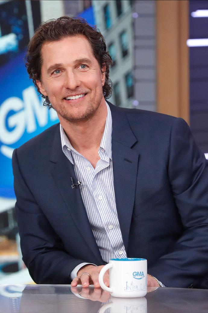 "**Matthew McConaughey**<br><br>  As well as playing a notable pop culture stoner in *Dazed and Confused*, Matthew McConaughey himself has also been known to smoke weed in his personal life. Who could forget the time he was arrested after police found him ""very intoxicated"" with marijuana in his home. <br><br>   Of the [short stint in jail](https://www.eonline.com/news/38901/matthew-mcconaughey-dazed-and-arrested