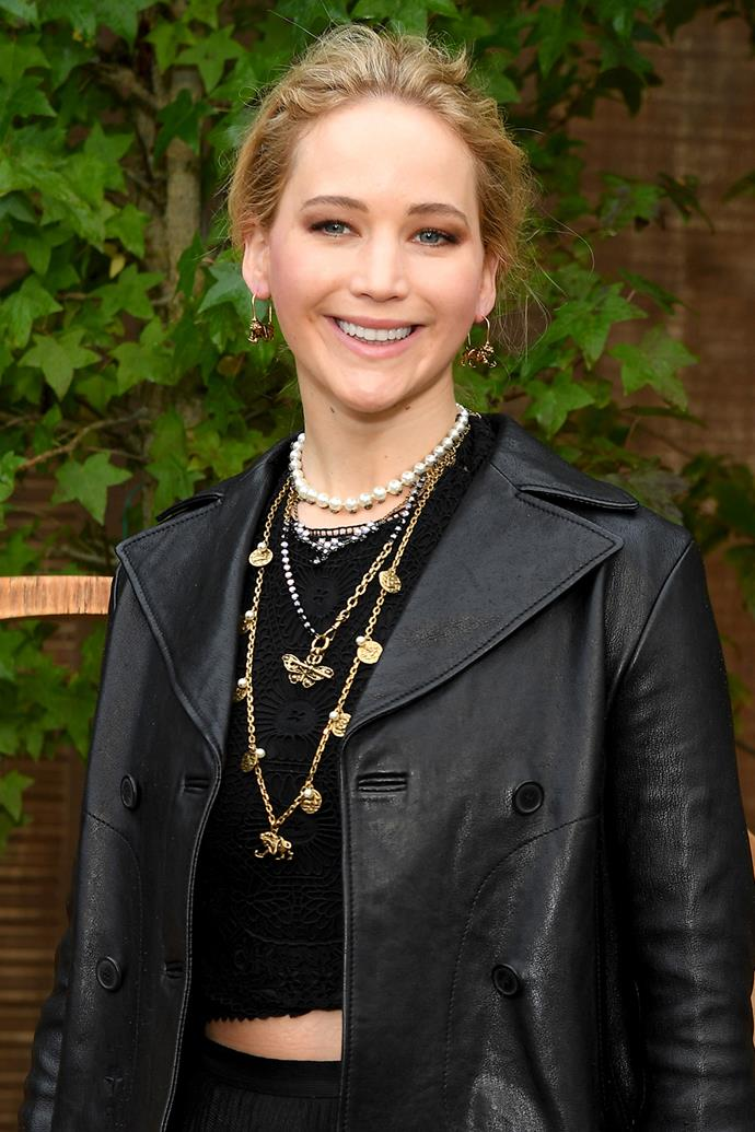 "**Jennifer Lawrence**<br><br>  While most people would have made the assumption from certain paparazzi pics, Jennifer Lawrence has addressed her casual weed use of her own accord too. In 2018, she shared on [*The Howard Stern Show*](https://www.youtube.com/watch?v=fyKt0Slgod4&ab_channel=TheHowardSternShow|target=""_blank""