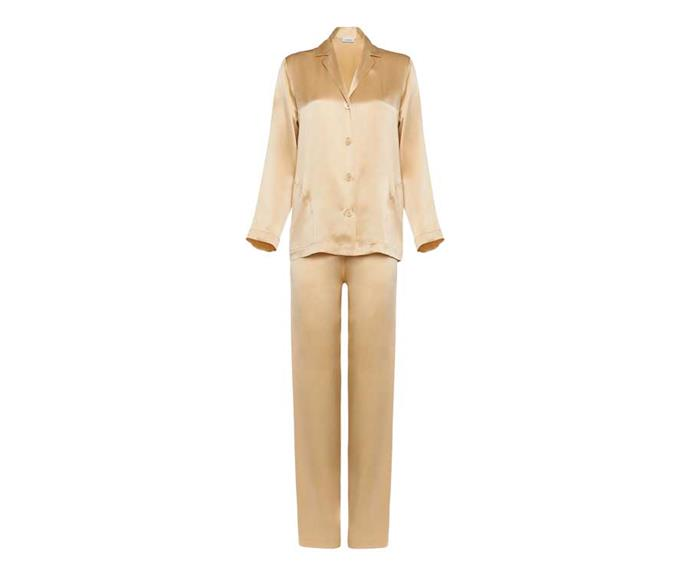 "La Perla Silk Long Pyjama Set, $450; [shop here](https://www.theiconic.com.au/silk-long-pyjama-set-1172026.html|target=""_blank""
