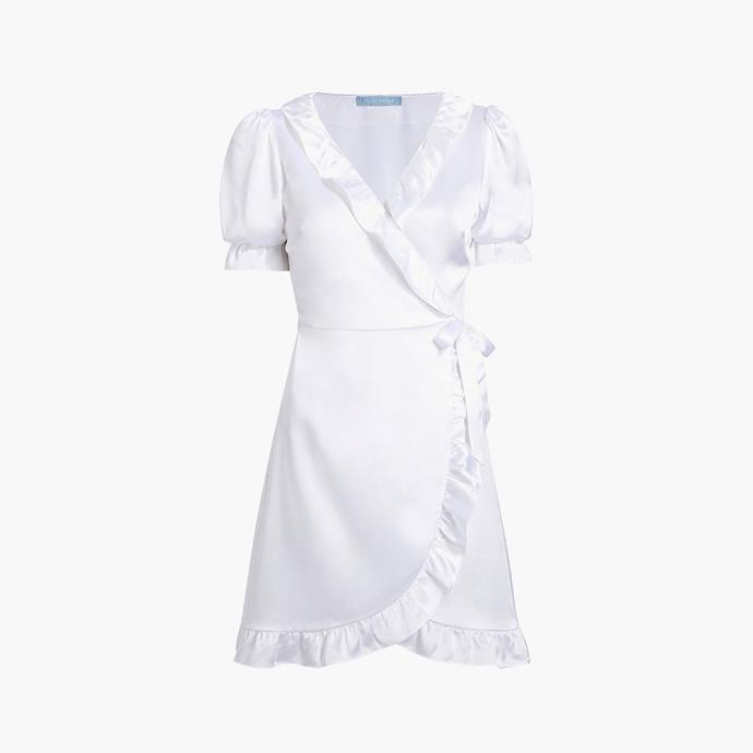 """The Nima Robe, $225 at [Hill House Home](https://fave.co/3xMZXNf target=""""_blank"""" rel=""""nofollow"""")."""