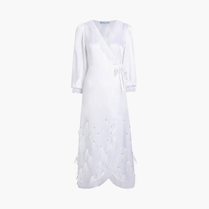 """The Dolly Robe, $353 at [Hill House Home](https://fave.co/3tvjoGS target=""""_blank"""" rel=""""nofollow"""")."""
