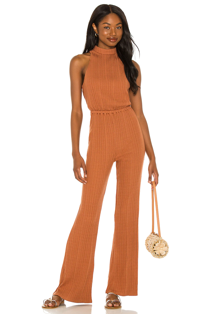 """*House of Harlow 1960 x Sofia Richie Caro Jumpsuit, $249.63 from [Revolve](https://go.skimresources.com?id=105419X1569491&xs=1&url=https%3A%2F%2Fwww.revolveclothing.com.au%2Fhouse-of-harlow-1960-x-sofia-richie-caro-jumpsuit%2Fdp%2FHOOF-WC69%2F%3Fd%3DWomens%26page%3D1%26lc%3D1%26itrownum%3D1%26itcurrpage%3D1%26itview%3D05