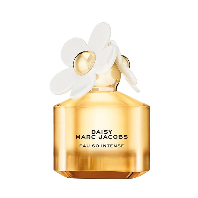 """<strong>For The Romantic Wedding:</strong> <br><br>Featuring notes of daisies, strawberry and pear, this rich fragrance is sweet and romantic. <br><br>Daisy Eau So Intense EDP, 50ml, $120<a href=""""https://www.myer.com.au/p/marc-jacobs-daisy-eau-so-intense-edp"""">Marc Jacobs</a>"""