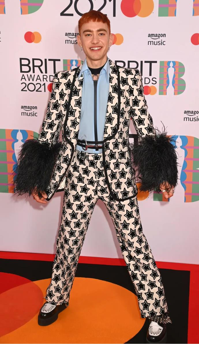 Olly Alexander in Gucci.