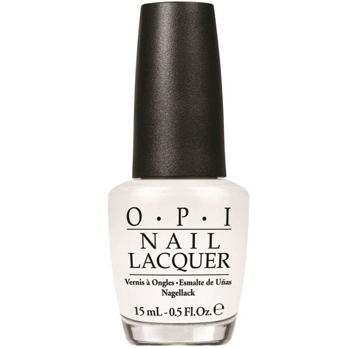 """Alpine Snow by OPI, $22.95 at [Adore Beauty](https://fave.co/3eEsahJ
