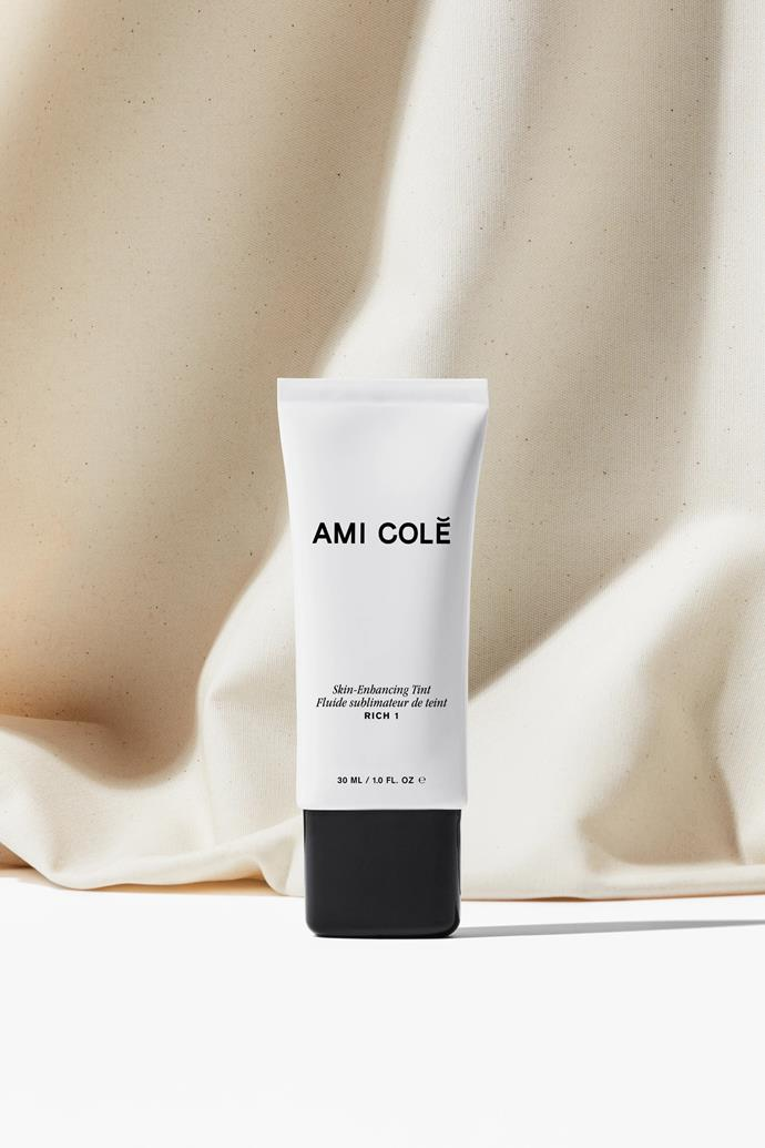 """Skin-Enhancing Tint, $41, at [Ami Colé](https://fave.co/2RkMdce