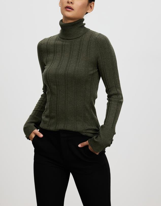 """Marle Remi Turtleneck, $260; at [The Iconic](https://www.theiconic.com.au/remi-turtleneck-1226165.html