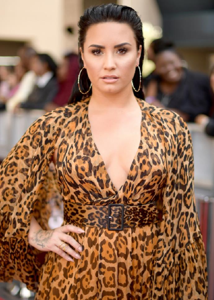 """**Demi Lovato** <br><br> Lovato warned their fans about the harmful effects that """"compliments"""" about weight loss can have on one's mental health. On May 23, [Lovato](https://www.elle.com.au/news/demi-lovato-has-come-out-as-non-binary-in-a-candid-instagram-post-25277