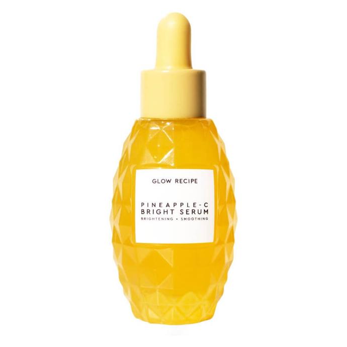"Glow Recipe Pineapple-C Bright Serum, $75 from [Mecca](https://www.mecca.com.au/glow-recipe/pineapple-c-bright-serum/I-040100.html?cgpath=brands-glowre target=""_blank"" rel=""nofollow"")."