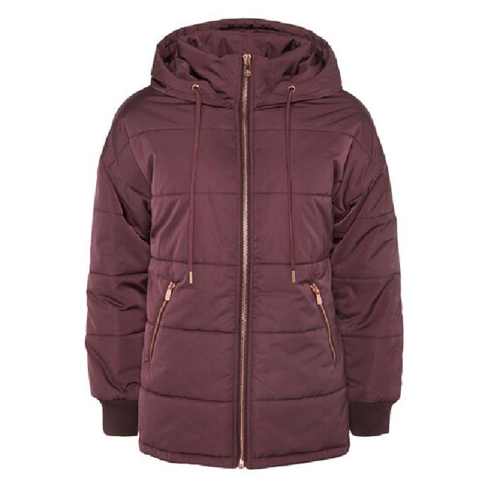 """Arctic Black Puffer Jacket by L'urv, $167.20 at [The Iconic](https://fave.co/3iLarWA target=""""_blank"""" rel=""""nofollow"""")."""