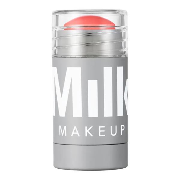 "Lip & Cheek Blush in 'Perk' by Milk Makeup, $28 at [Sephora](https://www.sephora.com.au/products/milk-lip-and-cheek-blush-mini/v/perk target=""_blank"" rel=""nofollow"")."