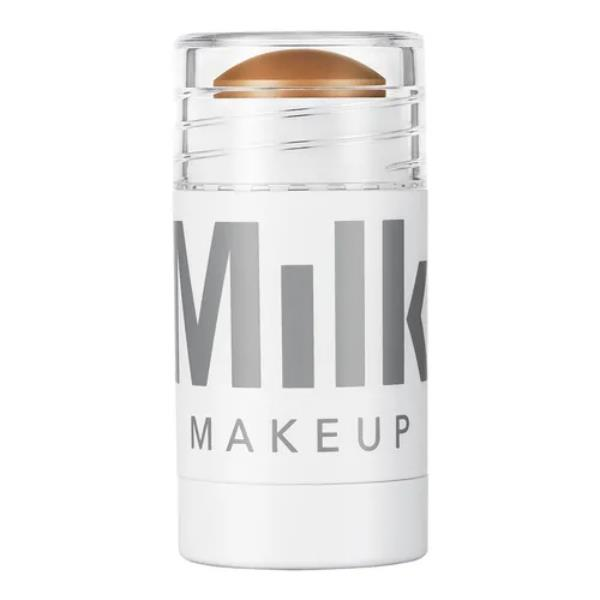 """Bronzer Baked Mini in 'Baked' by Milk Makeup, $28 at [Sephora](https://www.sephora.com.au/products/milk-bronzer-baked-mini/v/5-dot-7g target=""""_blank"""" rel=""""nofollow"""")."""