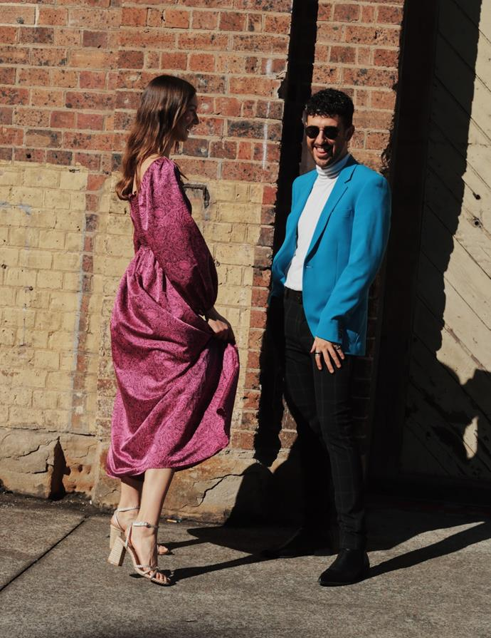 "[Charmaine Karla](https://www.instagram.com/charmainekarla/|target=""_blank""|rel=""nofollow"") wearing Et Cetera; [Dylan Gration](https://www.instagram.com/thestylemigration/|target=""_blank""|rel=""nofollow"") wearing Topman. <br><br> Photography by: [Nikki Chowdhury](https://www.instagram.com/nikkidury/?hl=en|target=""_blank""|rel=""nofollow"")"