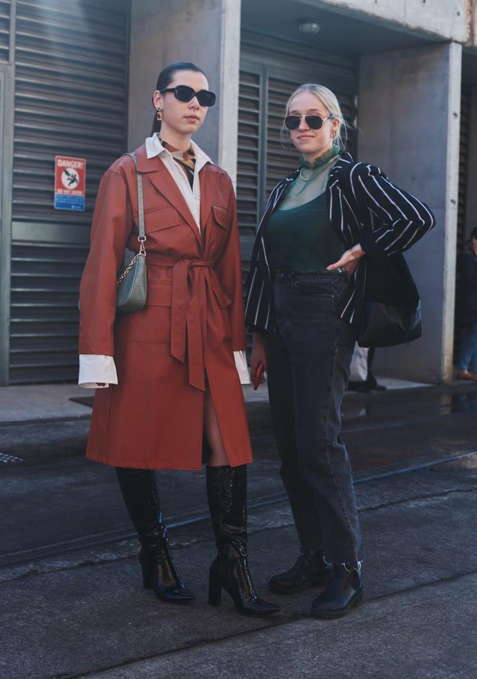 "[Nadya Van Kruyssen](https://www.instagram.com/nadyavankruyssen/|target=""_blank""|rel=""nofollow"") wearing Nasty Gal jacket, Adika and Billini; [Jess O'Dea](https://www.instagram.com/jessodea/|target=""_blank""|rel=""nofollow"") wearing Nasty Gal and Glassons. <br><br> Photography by: [Nikki Chowdhury](https://www.instagram.com/nikkidury/?hl=en|target=""_blank""|rel=""nofollow"")"