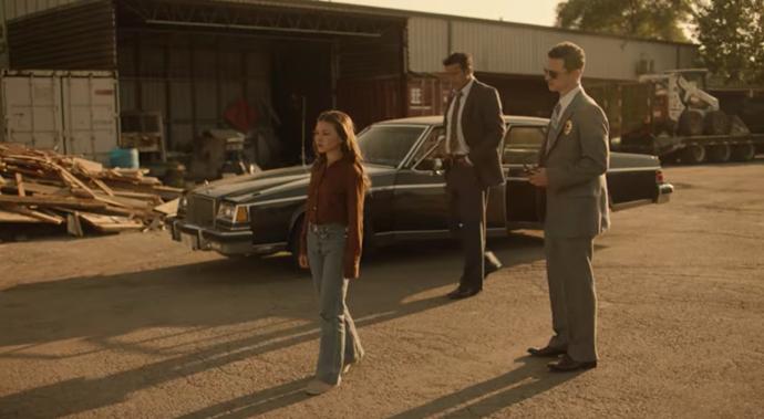 Katie Douglas as *Lisa McVey in Believe Me: The Abduction of Lisa McVey*, via Netflix.