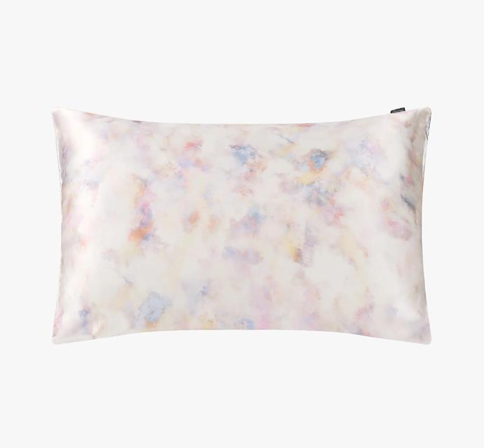 "19 Momme Print Silk Pillowcase with Hidden Zipper, $75 at [Lilysilk](https://fave.co/3x2bmaO|target=""_blank""|rel=""nofollow"")."