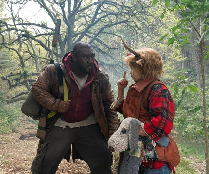 """**Nonso Anozie as Tommy Jepperd (or """"Big Man"""")** <br><br>  Actor Nonso Anozie takes on the role of *Sweet Tooth's* Tommy Jepperd, a traveller and reformed """"Last Man"""" who bravely saves Gus from poachers and follows him on his journey to find his mother. Tommy, or """"Big Man"""" as Gus calls him, was a professional football player prior to the apocalypse. <br><br> British actor Nonso Anozie is no stranger to the world of fantasy, having appeared as Sergeant Dap in *Ender's Game* and most recently, as Xaro Xhoan Daxos in HBO's *Game of Thrones.* Notably, the actor took part in Donald Glover and Rihanna's 2019 Amazon Prime Video film, Guava Island, as the project's antagonist, Cargo."""