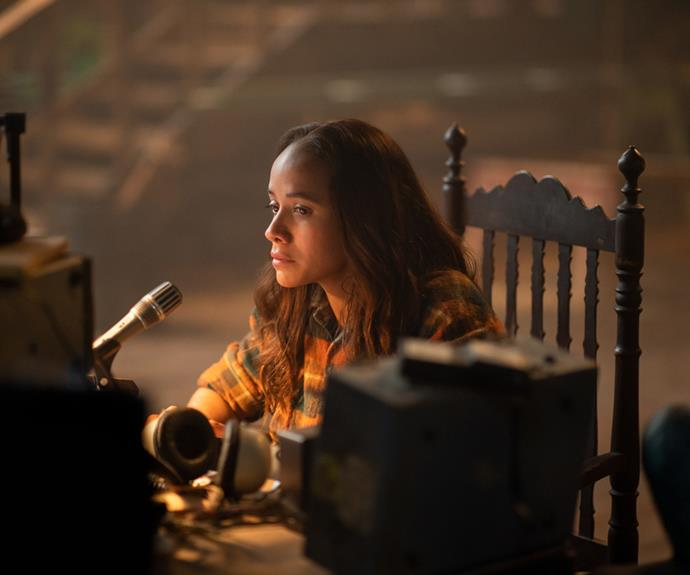 **Dania Ramirez as Aimee Eden** <br><br>  Dania Ramirez appears as Aimee Eden in Netflix's latest sci-fi thriller, a former therapist who seeks to create a safe haven for hybrids called the Preserve, but eventually turns the sanctuary into a clinical testing laboratory to find a cure on human-animal hybrid children.  <br><br> You might recognise the Dominican actress from her notable television roles, including as Turtle's girlfriend Alex in *Entourage*, as Blanca in the final season of *The Sopranos*, as as Maya Herrera in *Heroes*. Ramirez also appeared in *X-Men: The Last Stand*.