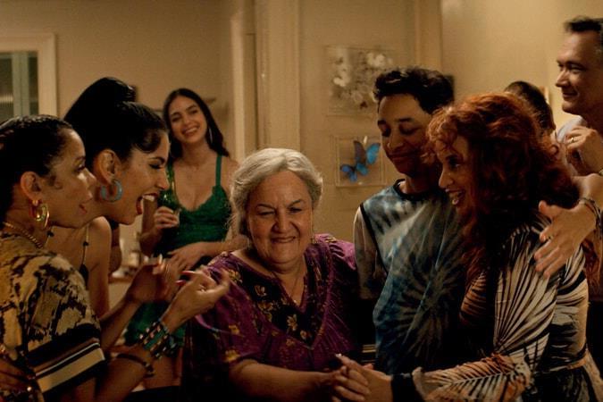 Olga Merediz as Abuela Claudia in *In The Heights* (2021).