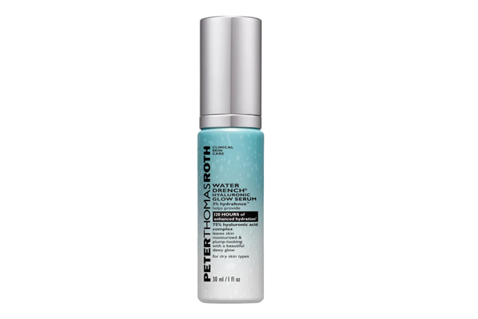 """**Water Drench Hyaluronic Glow Serum by Peter Thomas Roth, $105 at [Sephora](https://go.skimresources.com?id=105419X1569491&xs=1&url=https%3A%2F%2Fwww.sephora.com.au%2Fproducts%2Fpeter-thomas-roth-water-drench-hyaluronic-glow-serum%2Fv%2F30ml